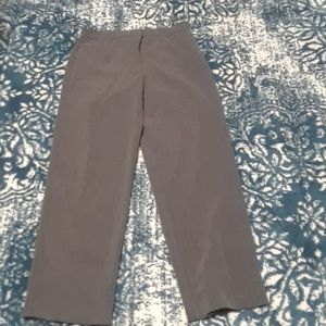 Briggs gray dress pants 10P